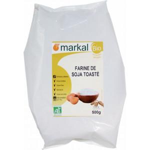 Farine de soja toastée bio - 500g