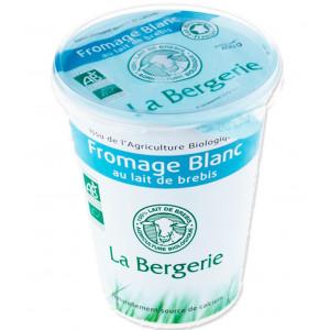 Fromage blanc lait de brebis bio - 400g