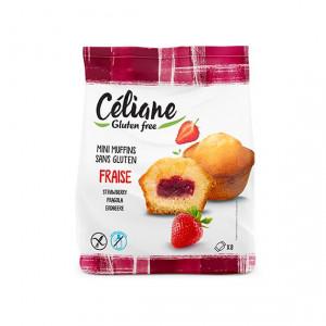 Mini Muffins fraises - 210g