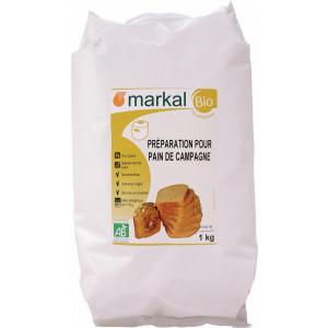 Farine préparation pain de campagne bio 1kg