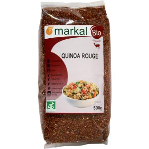 Graines bio de quinoa rouge - 500g