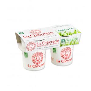 Yaourt lait de chèvre bio - 2x125g