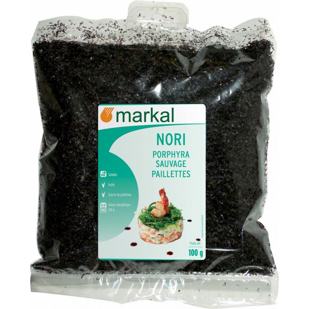 Achat algue rouge nori bio paillettes - Course en ligne