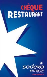Chèque restaurant