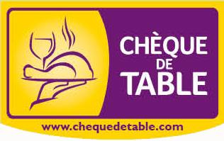 Chèque de table